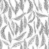 Veren naadloos patroon, stock illustratie
