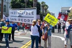 Verenig me voor Rechtvaardigheid Rally Los Angeles royalty-vrije stock fotografie