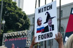 Verenig me voor Rechtvaardigheid Rally Los Angeles stock afbeeldingen