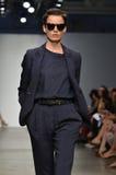 Verenigd Bamboe - de Modeshow van New York Stock Foto's