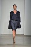 Verenigd Bamboe - de Modeshow van New York Stock Afbeelding