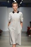 Verenigd Bamboe - de Modeshow van New York Stock Foto