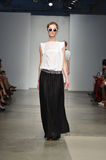 Verenigd Bamboe - de Modeshow van New York Royalty-vrije Stock Afbeelding