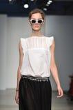 Verenigd Bamboe - de Modeshow van New York Royalty-vrije Stock Foto's