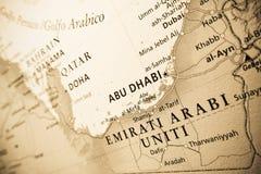 Verenigde Arabische Emiraten, economische sector stock afbeelding