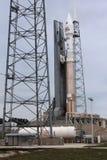 Verenigde Atlas V van Lanceringsalliance Raket stock afbeelding