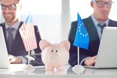 Verenigde inkomens stock fotografie