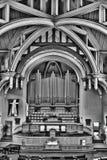 Verenigde Kerk in Saskatoon, Canada stock foto
