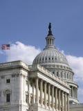 Verenigde Staten Capitol_Side Vie stock afbeeldingen