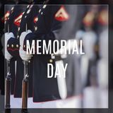 Verenigde Staten Marine Corps Gelukkige Veteranendag stock foto