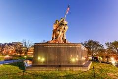 Verenigde Staten Marine Corps War Memorial Royalty-vrije Stock Afbeeldingen