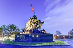 Verenigde Staten Marine Corps War Memorial Stock Foto's