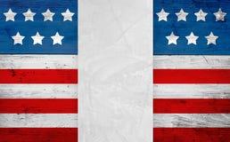 Verenigde Staten markeren patriottische achtergrond stock fotografie