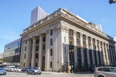 Verenigde Staten National Bank in Portland - PORTLAND - OREGON - APRIL 16, 2017 Royalty-vrije Stock Foto's