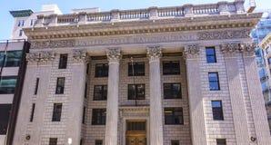 Verenigde Staten National Bank in Portland - PORTLAND/OREGON - APRIL 15, 2017 Royalty-vrije Stock Foto's