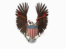 Verenigde Staten verzegelen, uit velen. royalty-vrije illustratie