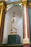 Verering, Heilige Week in Spanje, beelden van virgins en representatio Stock Fotografie