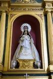 Verering, Heilige Week in Spanje, beelden van virgins en representatio Royalty-vrije Stock Foto's