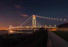 Verezano Bridge Stock Images