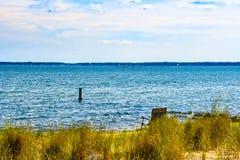 Verfügbares Seat auf der kleinen Bucht, Virginia lizenzfreie stockfotografie