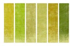 Verf en houten geweven bannerreeks Stock Afbeeldingen
