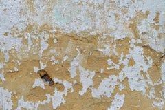 Verf Gepelde Muuroppervlakte Royalty-vrije Stock Foto
