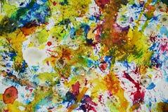 Verf het fonkelen vage tinten, de wasachtige creatieve achtergrond van de pastelkleurverf Royalty-vrije Stock Foto's