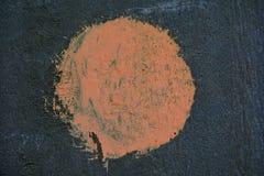 Verf oranje het Stock Fotografie