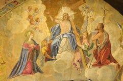 Verf van heiligen royalty-vrije stock fotografie
