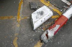 Verfallen von der Straße lizenzfreies stockbild