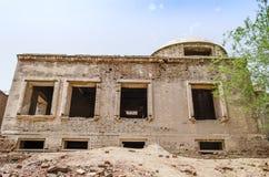 Verfallende Ruinen von Derawar-Fort Bahawalpur Pakistan stockbilder