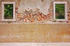 Verfallende Wand Lizenzfreies Stockbild