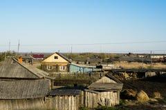 Verfallender ländlicher Bau Lizenzfreies Stockbild