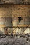 Verfallene Block-Wand Stockfotos