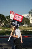 Verfasser-Innung von Amerika-Streik N 2008 Lizenzfreies Stockfoto