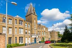 Verfolgungsbauernhofkrankenhaus in Enfield London Lizenzfreies Stockbild