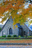 Verfomfaai Herdenkings Presbyteriaanse Kerk Blazende Rots Noord-Carolina Royalty-vrije Stock Foto's