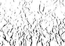 Verfomfaaid document patroon Zwart-witte verfrommelde achtergrond Samenvatting gevouwen malplaatjetextuur Steekproefillustratie v Royalty-vrije Stock Fotografie