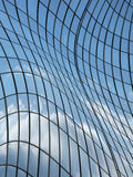 Verformte Fassade Stockfotos