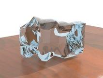 Verformtes Glas Stockbild