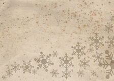Verfraaid document voor Kerstmiskaart Royalty-vrije Stock Foto's