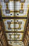 Verfraaid glasplafond Royalty-vrije Stock Foto's