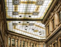 Verfraaid glasplafond Stock Afbeeldingen