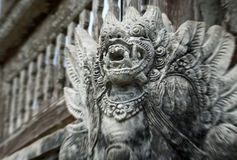 Balinees beeldhouwwerk Stock Fotografie