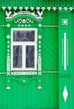 Verfraaid venster Royalty-vrije Stock Afbeeldingen