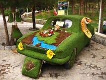 Verfraaide auto tijdens Nowruz in Isphahan, Iran Royalty-vrije Stock Afbeeldingen