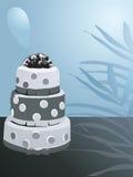 Verfraaide cake Royalty-vrije Stock Afbeeldingen