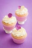 Verfraaide Cupcakes Royalty-vrije Stock Foto's