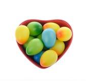 Verfraaide Eieren Stock Afbeelding