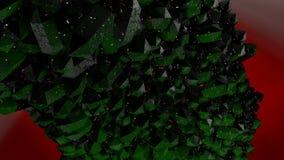 Verfraaide en kleurrijke Kerstboom vector illustratie